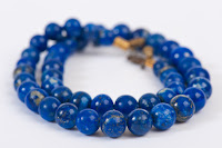 Lapis lazui bead necklace