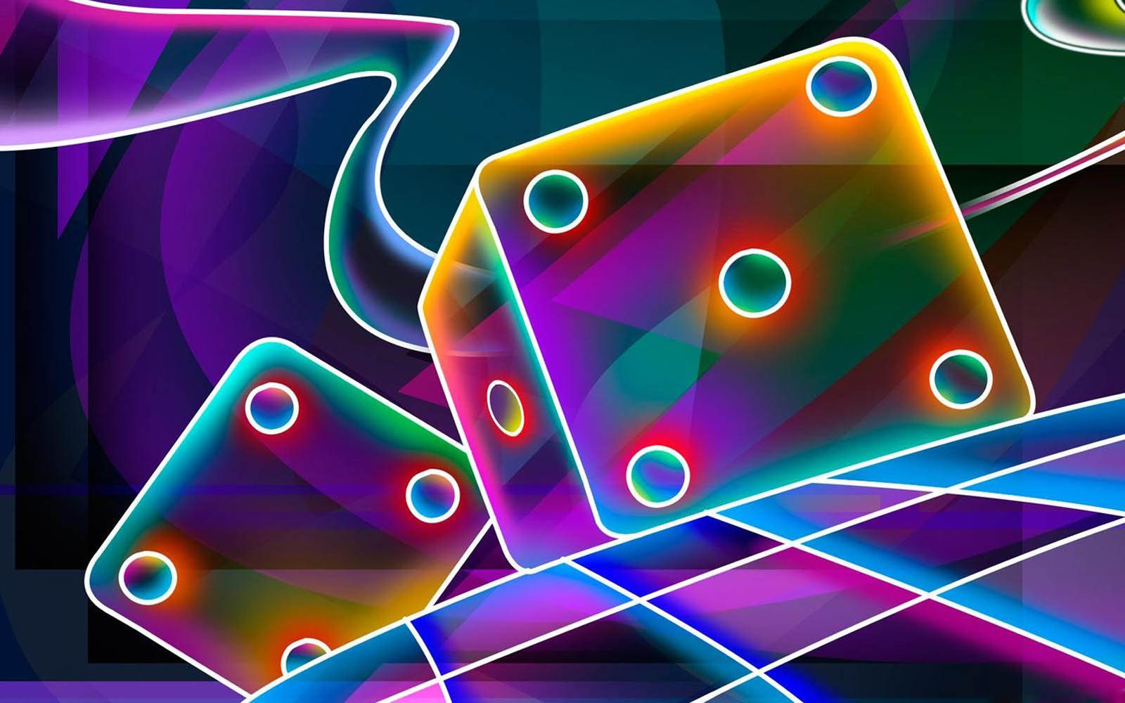Neon Lights Wallpaper : wallpapers: Neon Art Wallpapers