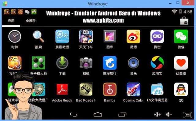windroye android emulator