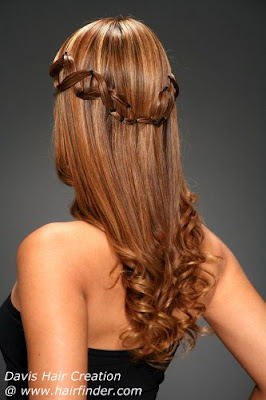 Peinados casuales y modernos modernos peinados para - Peinados de novia con flequillo ...