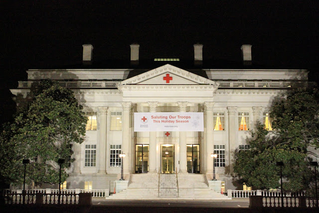 The headquarter of American Red Cross in Washington DC, USA