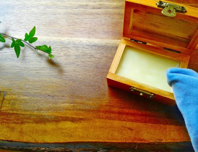 crema casera para madera