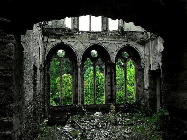 Castillo abandonado en Gales
