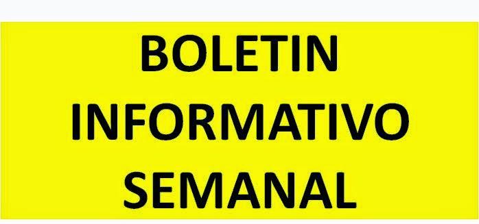 BOLETINES INFORMATIVOS