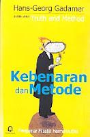 toko buku rahma: buku KEBENARAN DAN METODE (Truth and Method), pengarang gadamer, penerbit pustaka pelajar