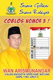 Desain Baliho, Banner, Poster Pemilihan Caleg 2014