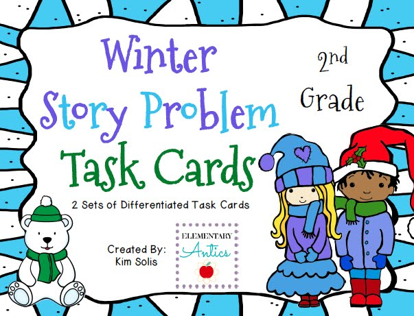 http://www.teacherspayteachers.com/Product/Winter-Story-Problem-Task-Cards-1044338