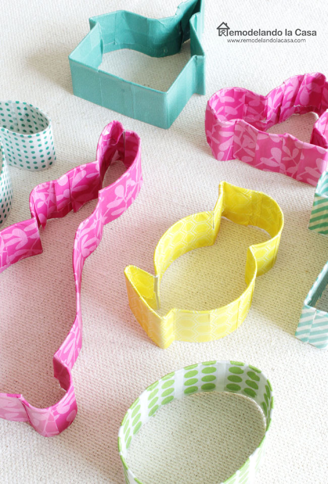 cookie cutters on shapes of bunny, rabbit, chick, lamb, egg, church, cross