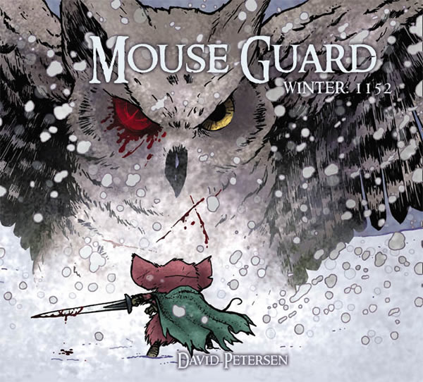 speaking of the subject matter as i said in the beginning of this review my initial thought was that i would read mouse guard and if i liked the system