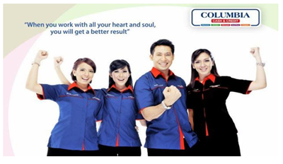Lowongan Kerja PT Columbindo Perdana (Columbia) Cabang Yogyakarta (Administrasi, Sales Counter Showroom, Supervisor dan Marketing Executive)