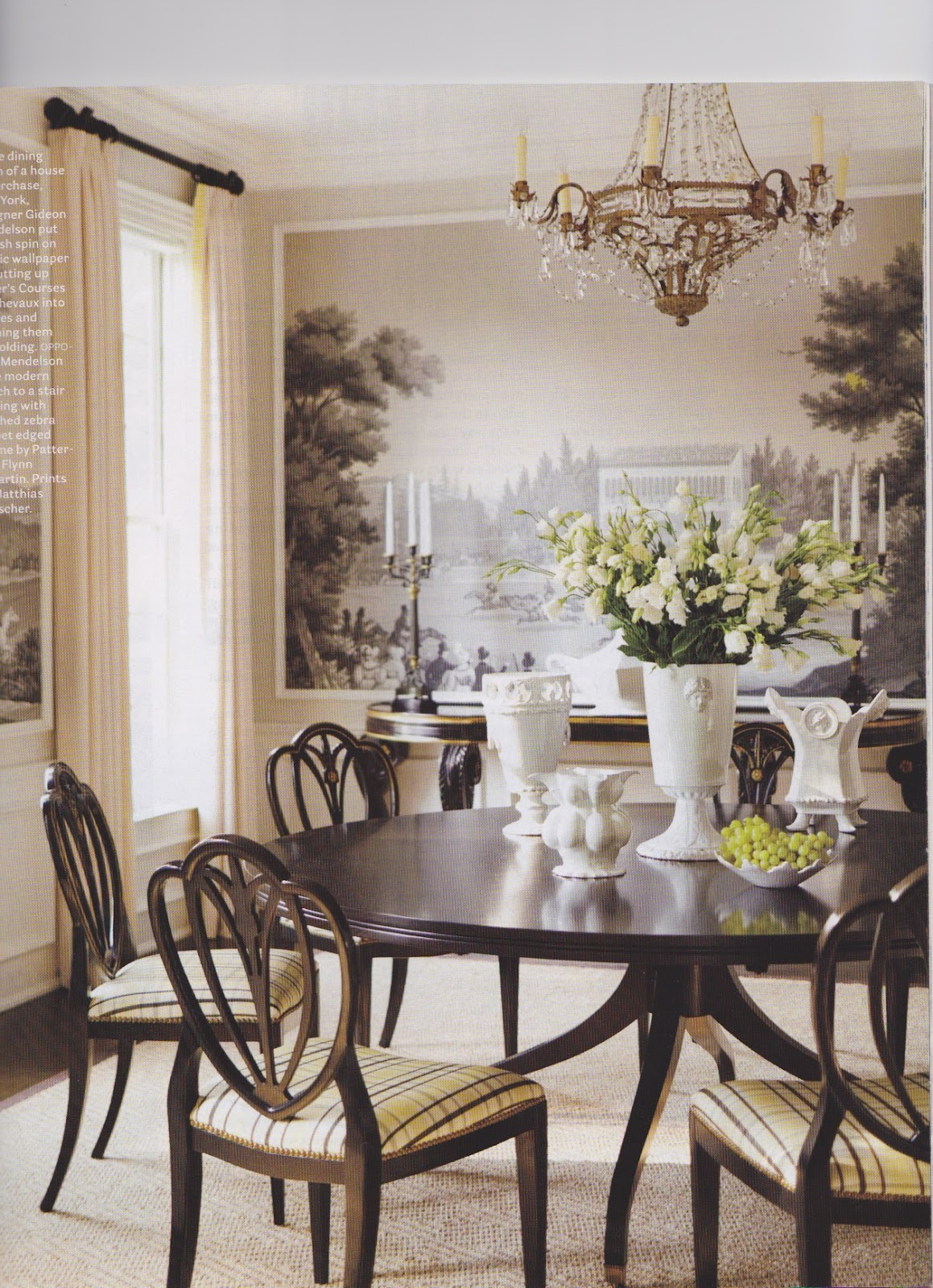 sybaritic spaces: delightful dining rooms