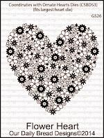 ODBD Flower Heart