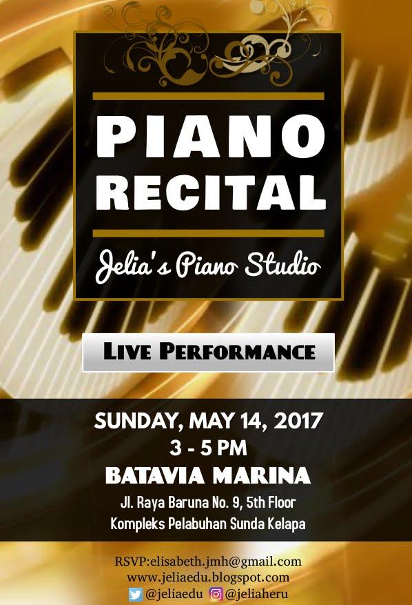Piano Recital @ Batavia Marina