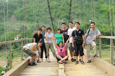 Report on RTC inspection trip to Pu Hu Nature Reserve, Thanh Hoa province