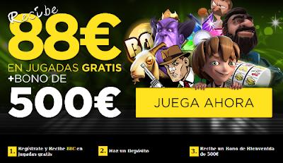 888sport bono 88 euros gratis sin deposito