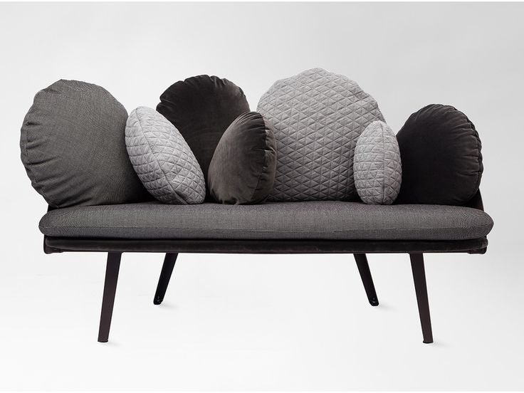 sofa med bløde puder