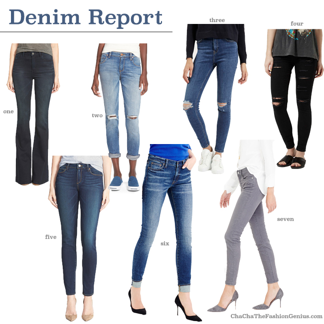 7 Must Have Jeans for Fall