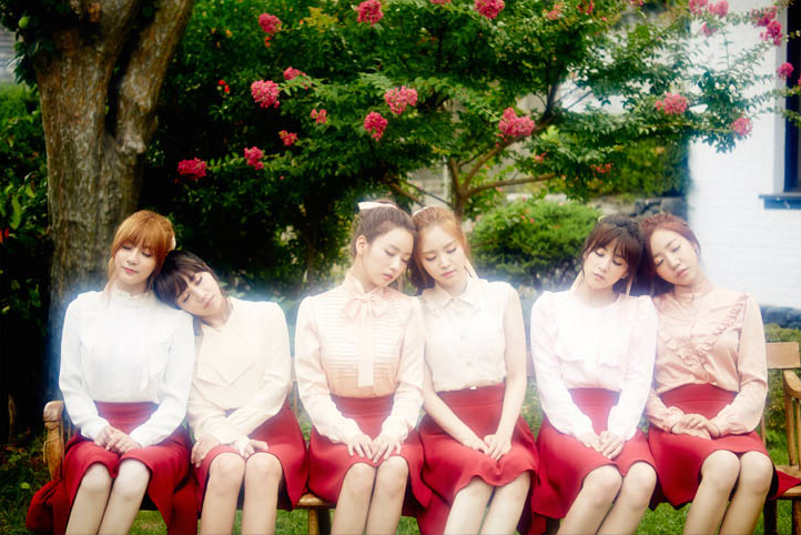 Apink Korean Girl Group