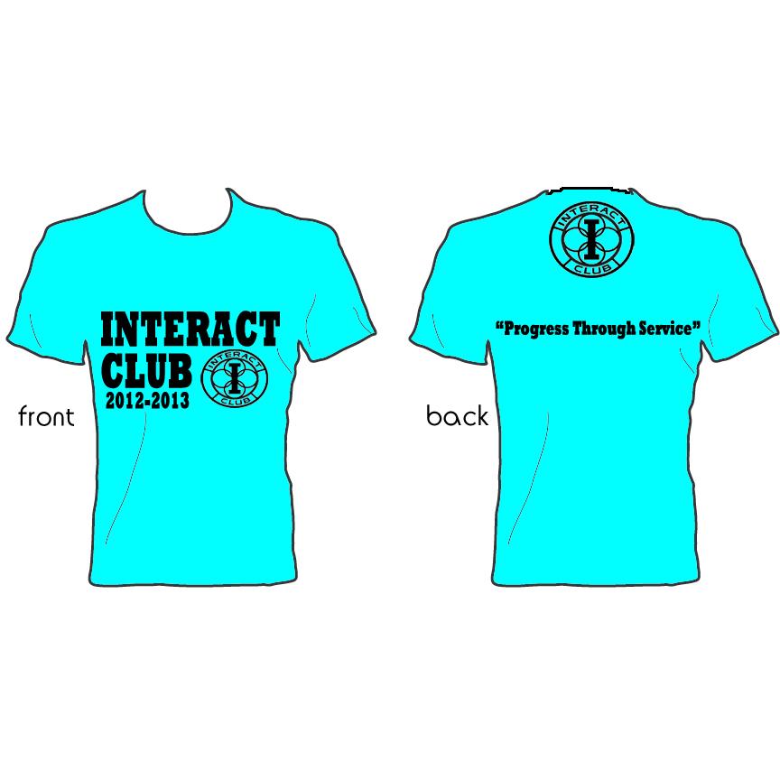 ADV Digital Design Studio Interact Club T shirt