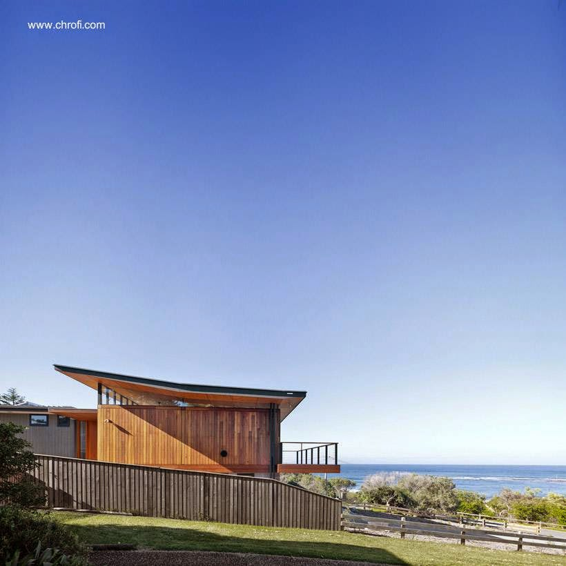 Arquitectura de casas otra casa moderna junto al mar en for Casas modernas junto al mar