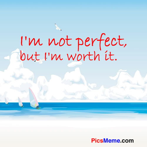 i'm not perfect quotes