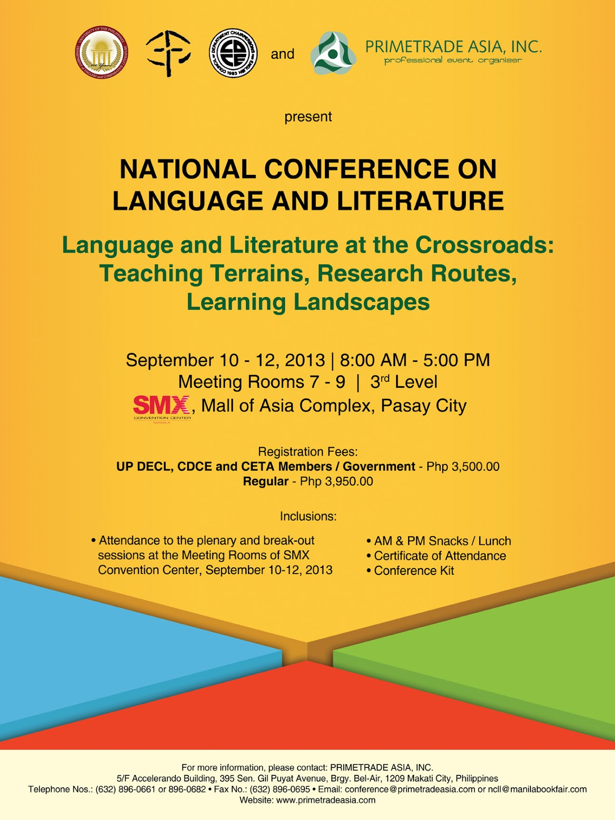 National conference on language and literature ncll for Lit national