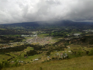 VIsta del municipio de Suesca