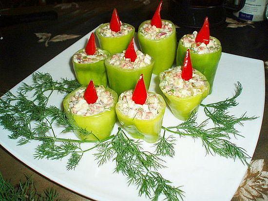 Новогодние блюда и закуски фото
