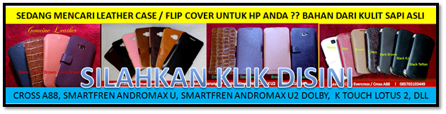 Sarung hp / leather case kulit