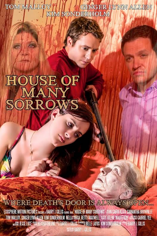 Poster oficial de la nueva película de terror de Ginger Lynn