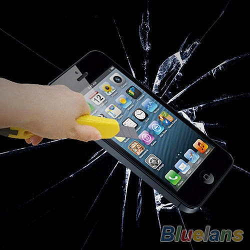 Good Anti-Scratch Tempered Glass Screen Protector FULL BODY For iPhone 5 5S B57U