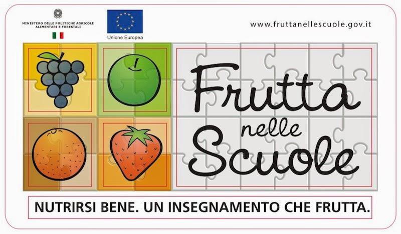 La scuola aderisce al progetto Frutta nelle Scuole