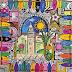 Marrakech, Wow ! – Babouches – 100 x 100 cm