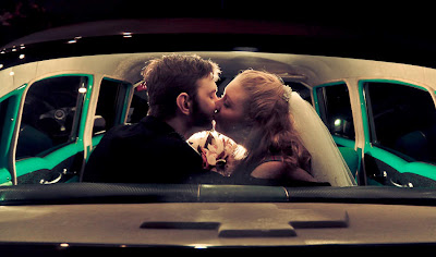 Beautiful Couples Wedding In Cars