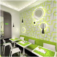 Дизайн вегетарианского рестарана Green way г. Москва