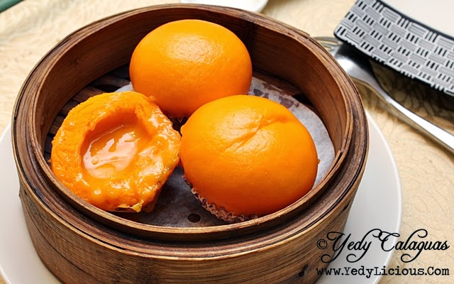 Crystal Jade Steamed Cream Custard Bun with Salted Egg Yolk