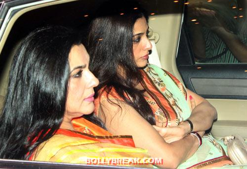 Amrita Singh and Tabu - (12) - Amitabh Bachchan Diwali Bash Photos