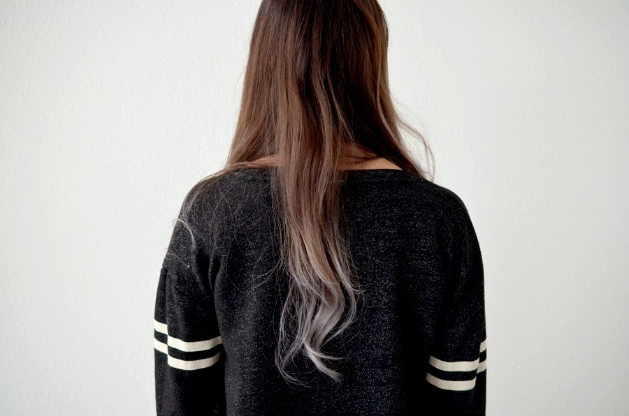Beauty Aspect: Ombre hair dye with silver grey ends: SOYL ...