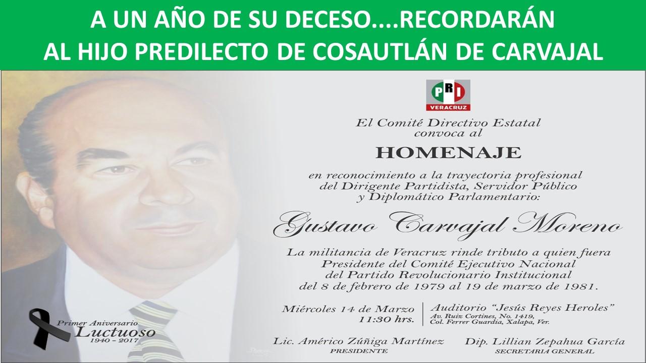 in memoriam don gustavo carvajal