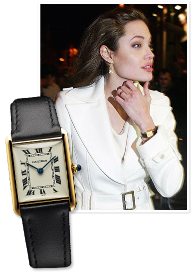 Cartier stephanie wu october 2013 for Top celebrity watches