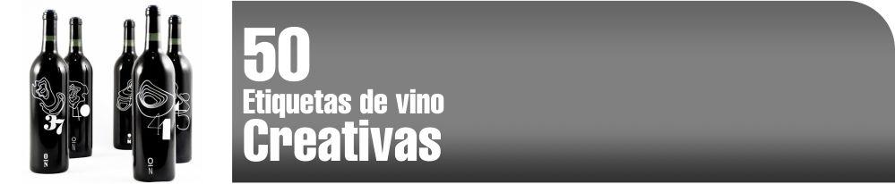 Etiquetas de vino creativas