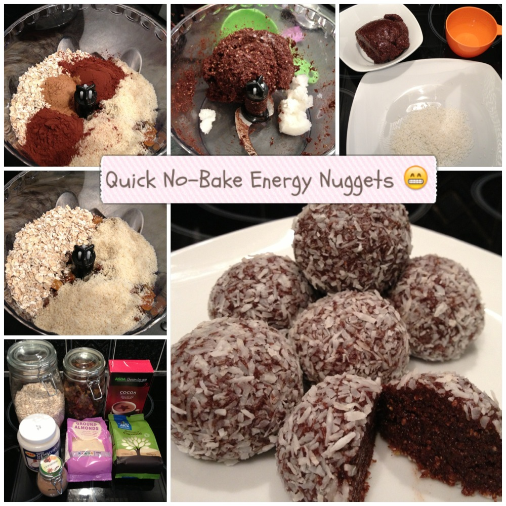 Melfy Cooks Healthy: Quick No-Bake Energy Nuggets