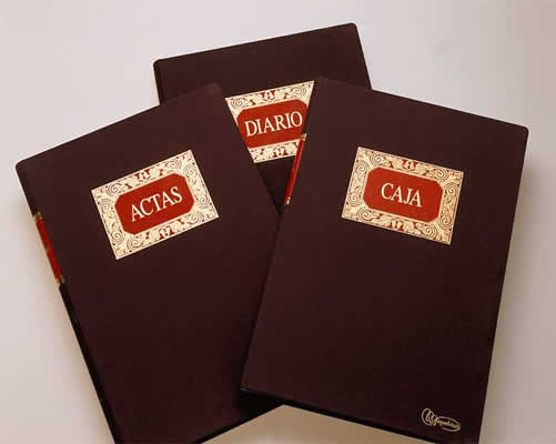 libros contables de las empresas: