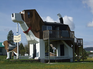Dog Bark Park Inn, Cottonwood, Idaho, US