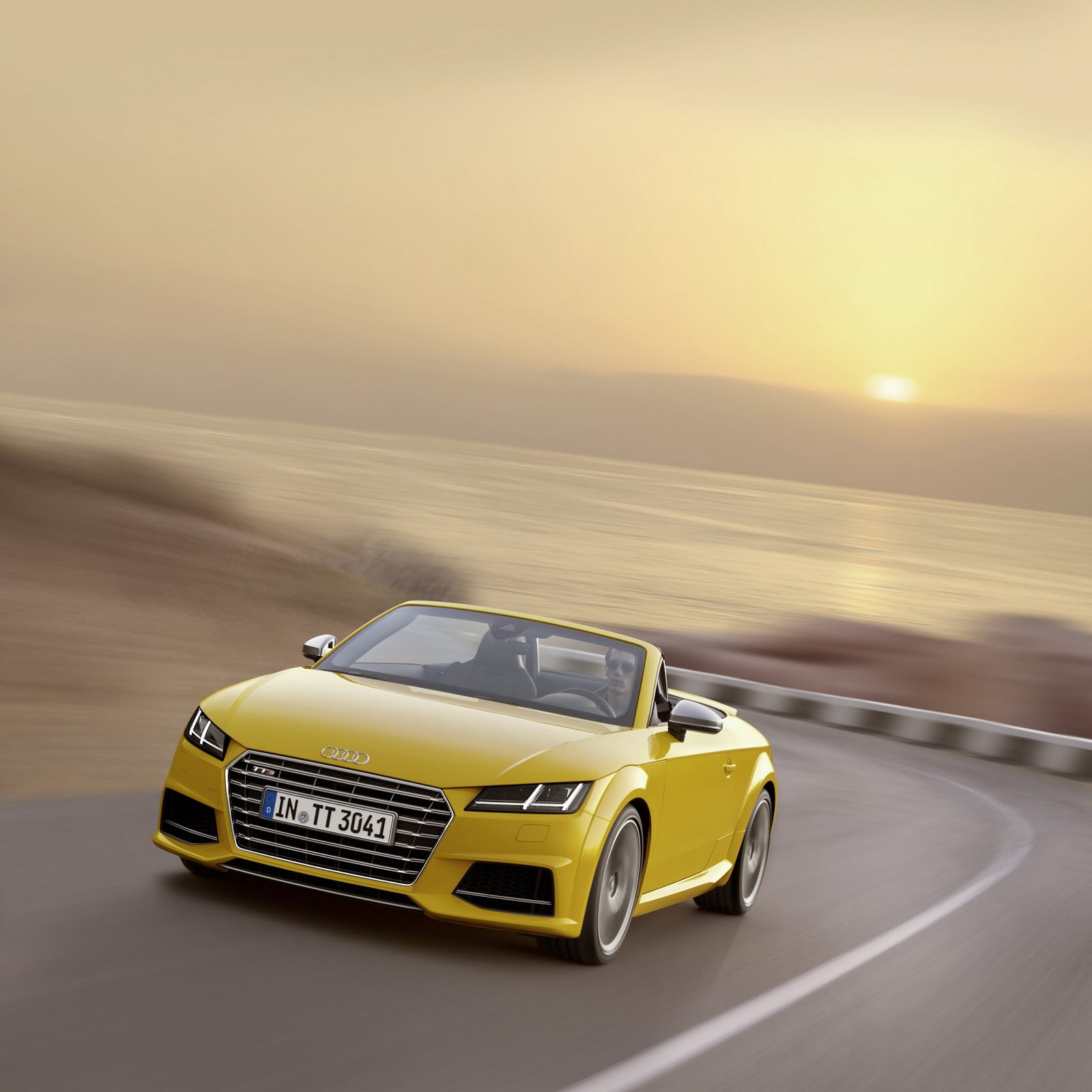 Audi Opens Up New TT And TTS Roadster [31 Photos]