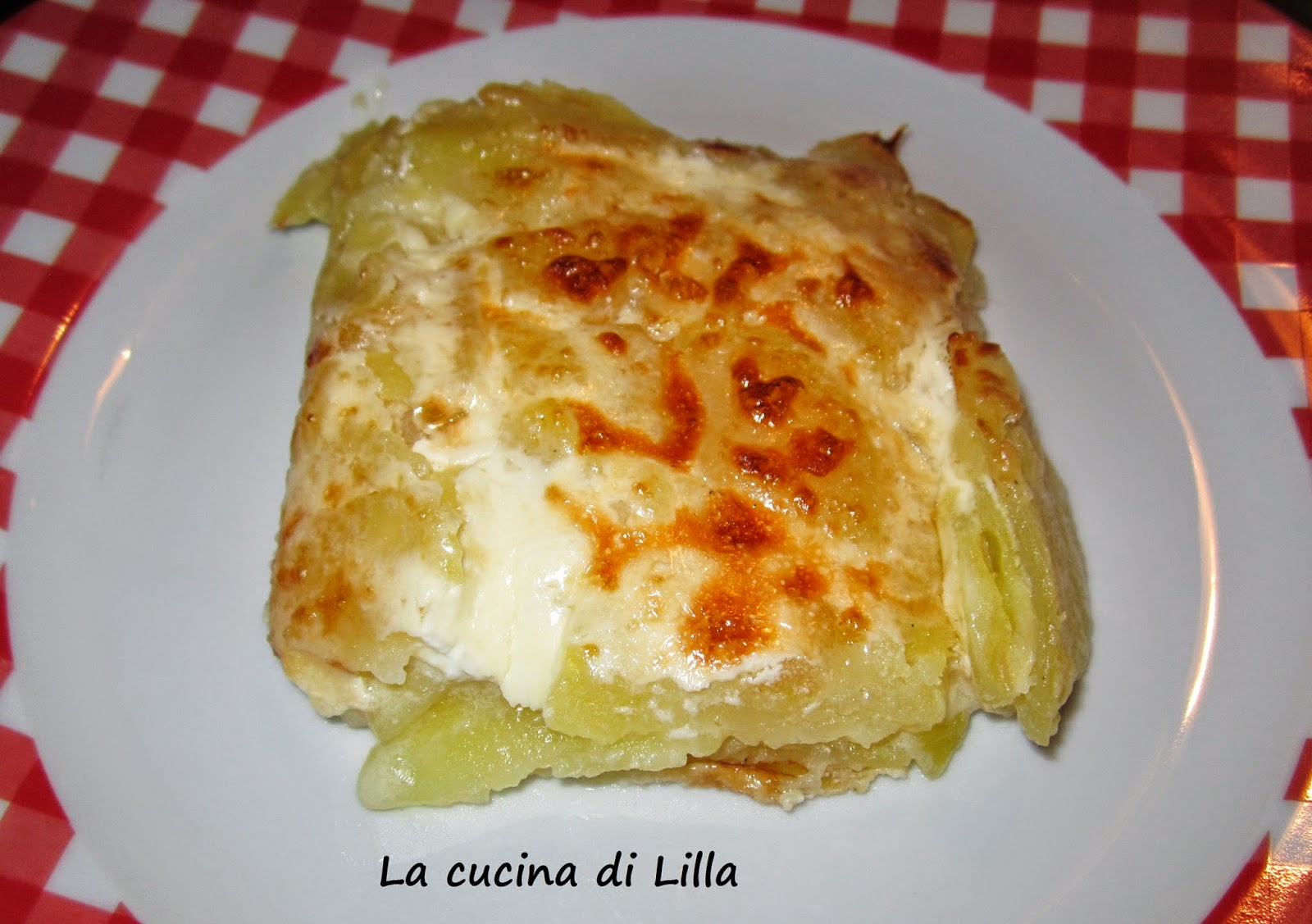 la cucina di lilla contorni gratin dauphinois. Black Bedroom Furniture Sets. Home Design Ideas