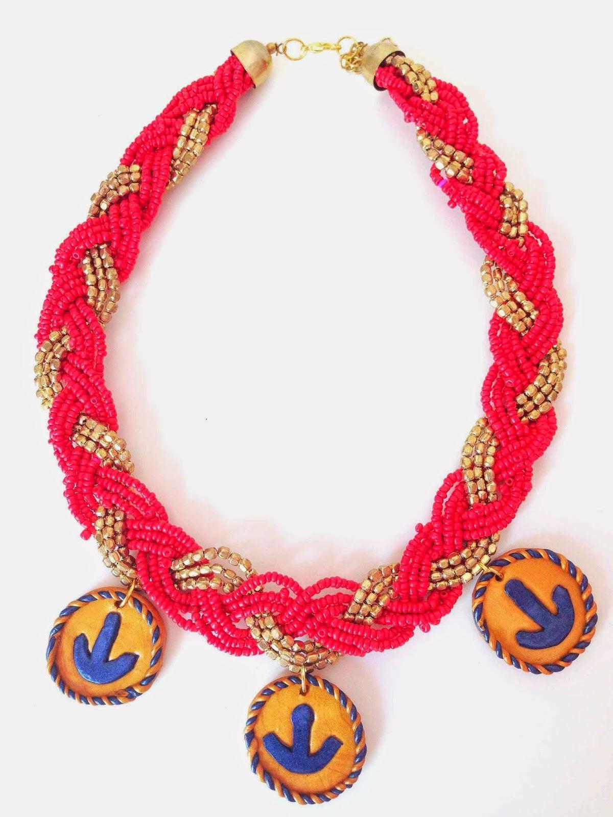Collar Tres Anclas NM Designs