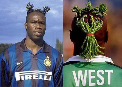 peinados exoticos de los futbolistas