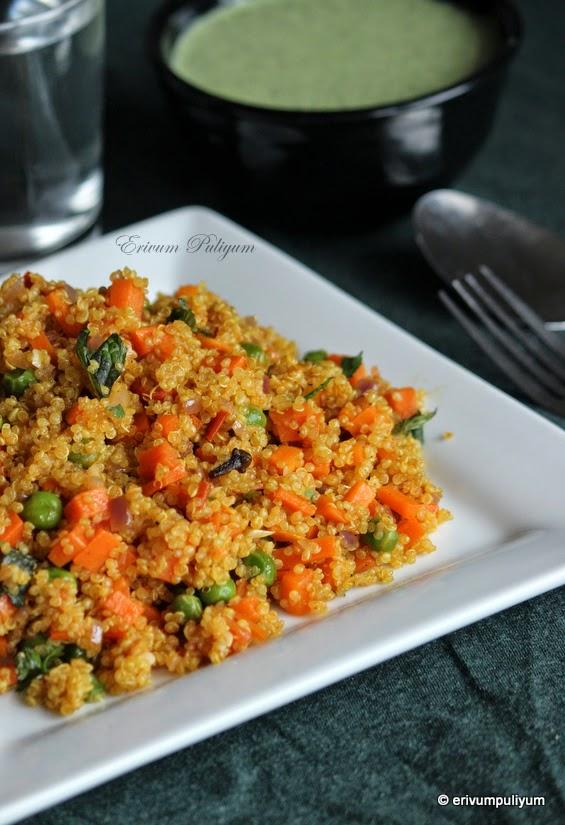Quinoa Veg Pulao | Protein Packed Veg Pulao