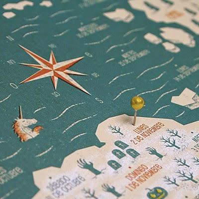 Calendario Mapa 2015 Enjoy your Trip